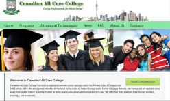 Web Design Toronto - All Care College | SEOREPUBLIC.COM