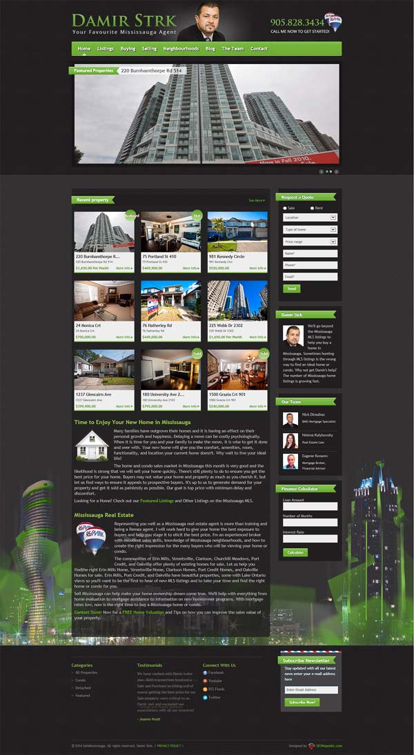 Web Design Mississauga SellMississauga